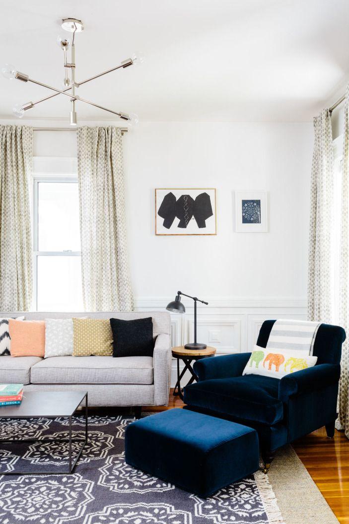 modern lining room |  shannon tate interiors