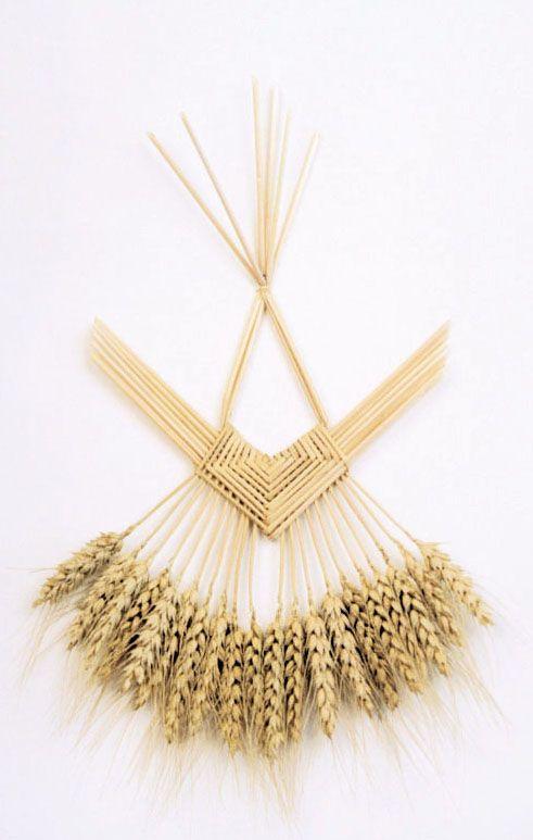 Wheat sculpture. lughnasadh.