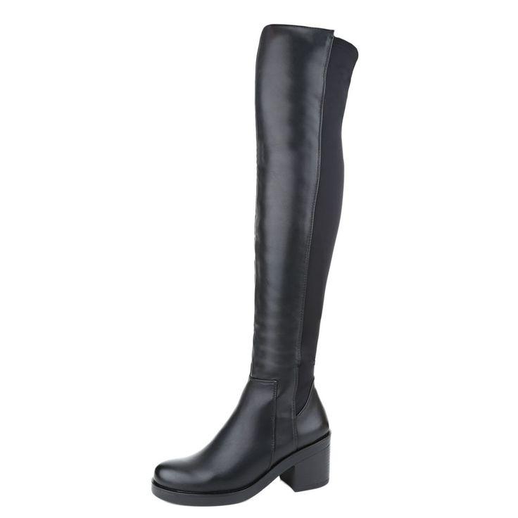 Damen Schuhe Stiefel designer Overknee 0140 Hellbraun 39