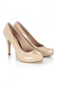 beige court shoes