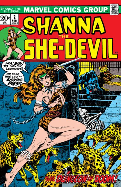 Shanna the She-Devil (Volume) - Comic Vine