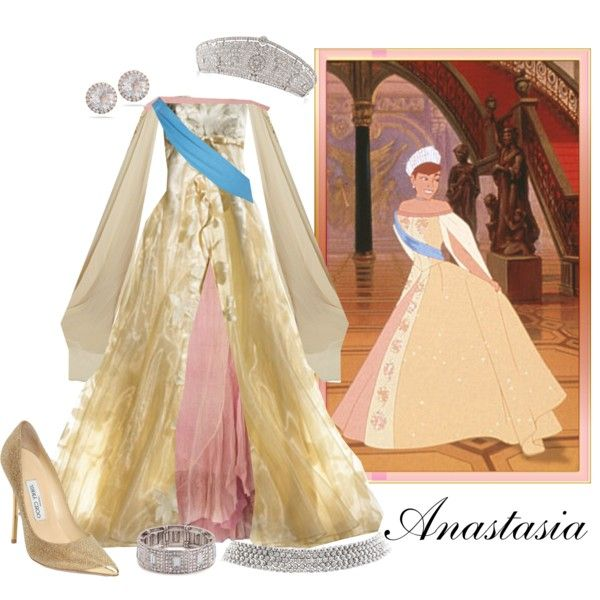 """Anastasia's Final Gown"" by nightwatchman54 on Polyvore"