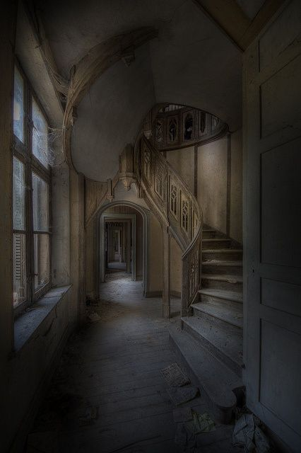 abandoned mansion.                                                                                                                                                                                 More