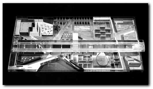 Model of McCormick Tribune Campus Center, IIT, Rem Koolhaas (2003)