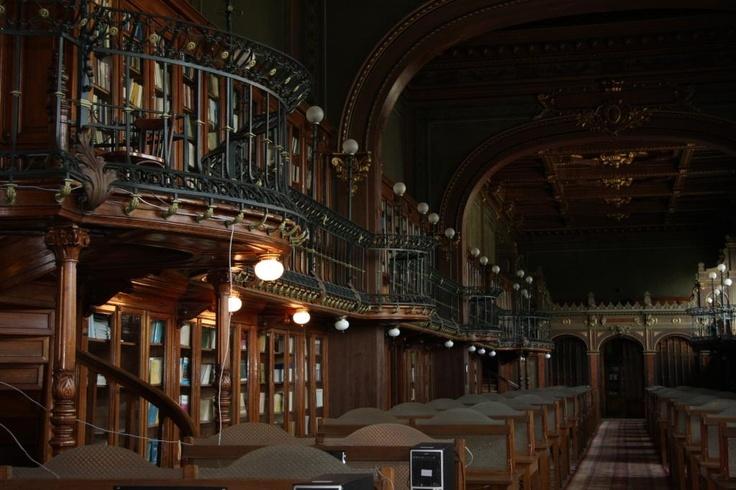 Sala de lectură.
