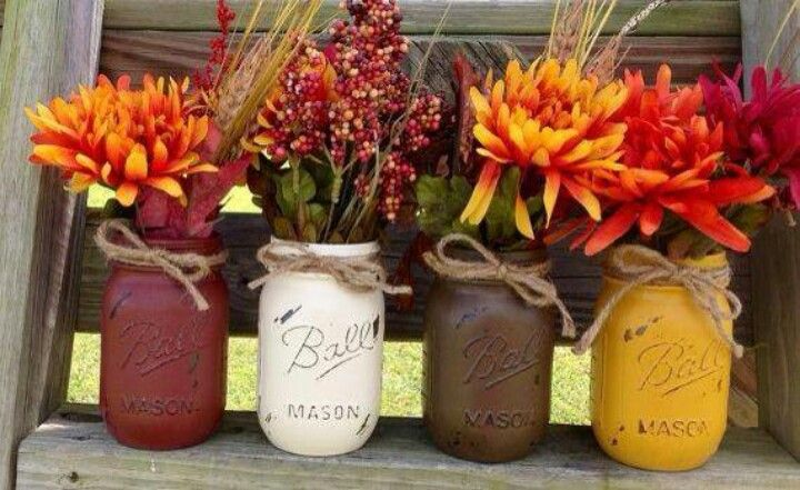 Cute fall arrangement