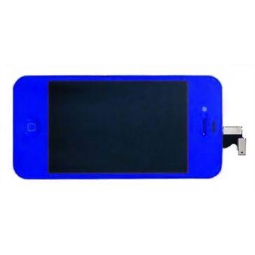 Compleet scherm (LCD & digitizer) iPhone 4 donker blauw. Met 6 maanden garantie, nu voor 23,23,- #ikfix #macrepair #iPhone4 #LCD #digitizer