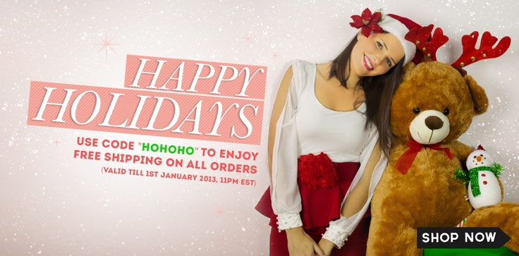 Happy holidays from www.jolietta.com!