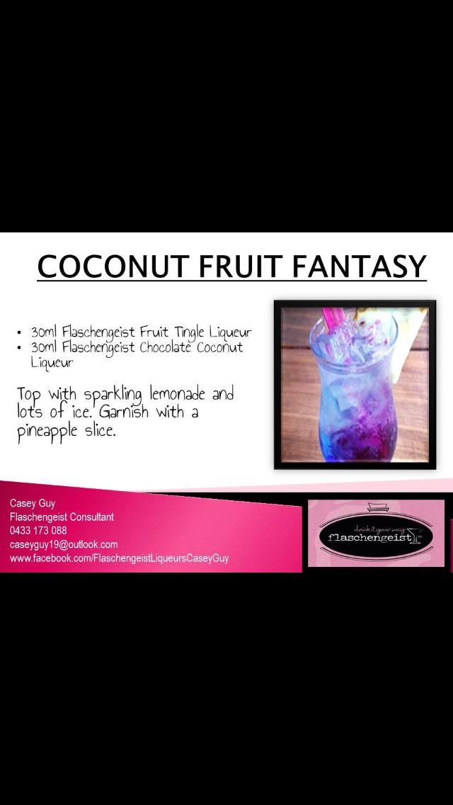 Coconut Fruit Fantasy