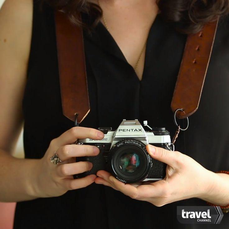 3 Adorable DIY Camera Strap Ideas
