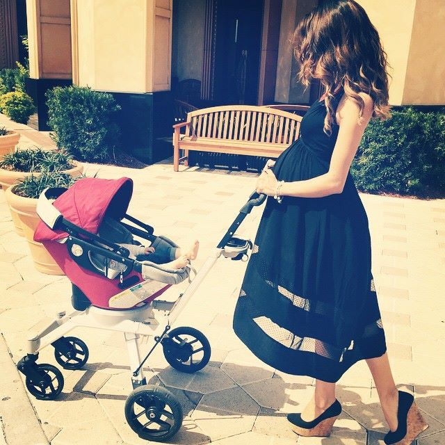 Mommy bump dress