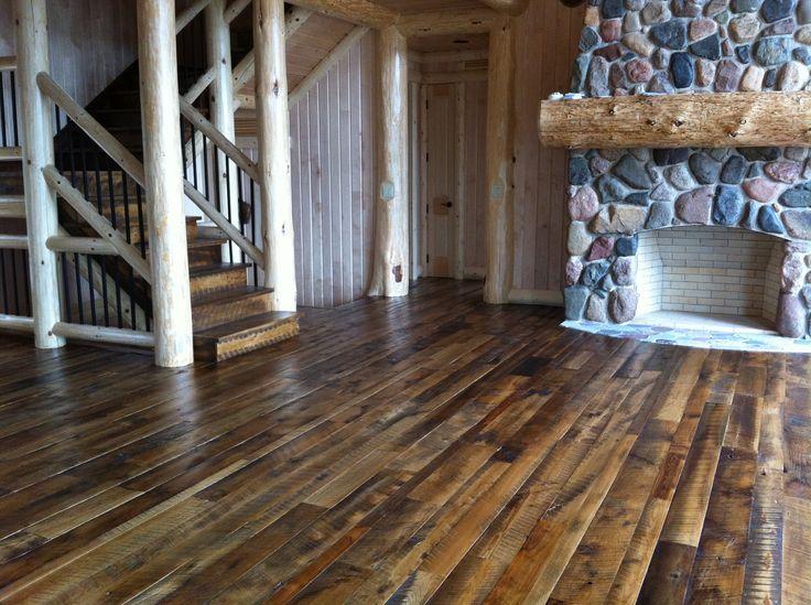Antique mixed hardwoods flooring antique mixed hardwoods for Old barn wood floors