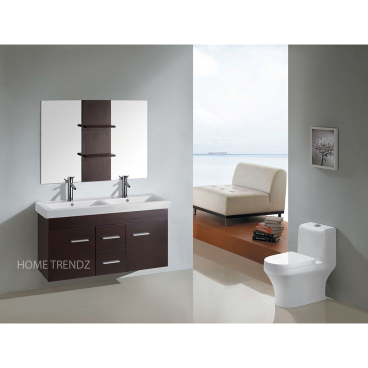 1000 ideas about floating bathroom vanities on pinterest modern bathrooms master bath and. Black Bedroom Furniture Sets. Home Design Ideas