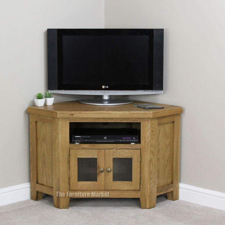 25 best ideas about oak corner tv unit on pinterest white tv unit ikea tv stand and low tv stand. Black Bedroom Furniture Sets. Home Design Ideas