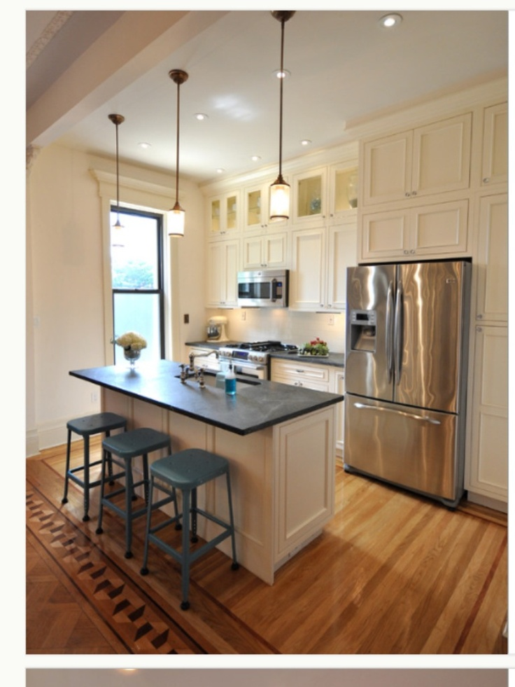 Best Great Kitchen In A Small Space Probably An Apartment Or 640 x 480