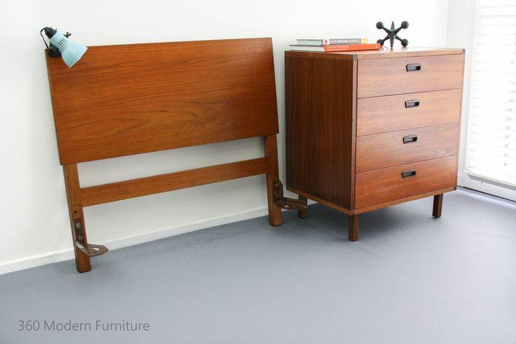 17 best images about mid century bedroom by 360 modern for Vintage danish modern bedroom furniture