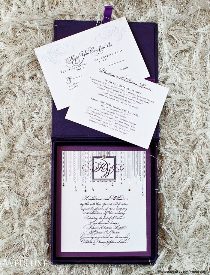 how to make film canister wedding invitations%0A like how the initials from the invite are debossed into the reply