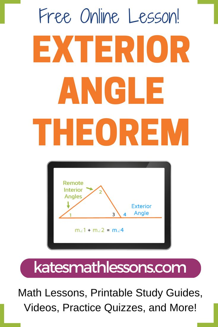 how to find the exterior angle of a polygon