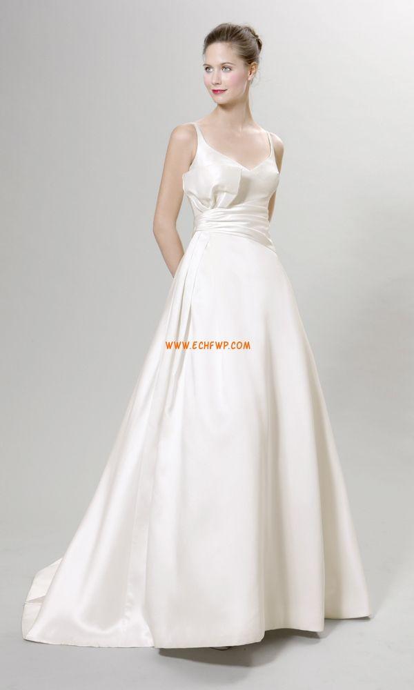 2014 tavasz Klasszikus és időtálló  Ujjatlan Menyasszonyi ruhák 2014