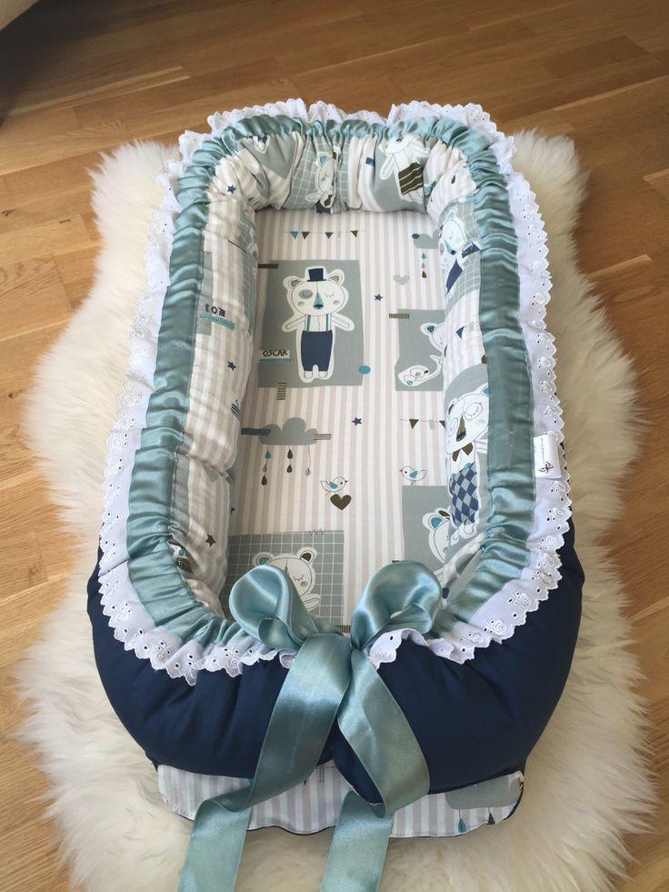 skjønt babynest for salg, bestillinger gjøres via FINN.no-kode: 59440672#gravid #håndlaget #barnedåp #barsel #sommerfugldesign #babyshower #babygave #nyfødd #samsoving #nårbarnetsover #babynest #barneseng #babyseng #gravid #gavetilnyfødd #barselsgave #baby2015 #babyutstyr #barnerom #bleiekake #haisportsbag