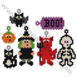 Halloween Collection Bead Pattern By ThreadABead