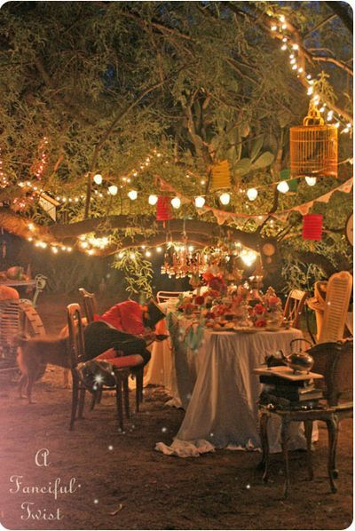 """Vanessa Valencia's annual """"Mad Tea Party"""" 2012.  So in love with her lovely and delicious desert property!"""