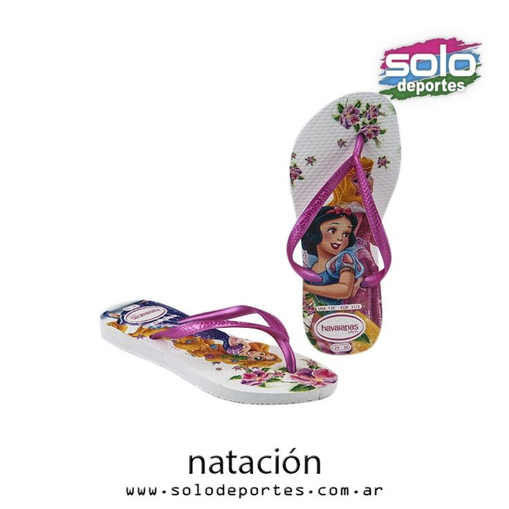 Havaiana Disney Princess Kids Blanco/Rosa  Marca: Havaianas 103014123328826   $ 179,00 (U$S 27,12)