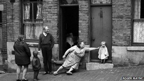 A quest has begun to trace a family pictured in a set of photographs taken in Nottingham's slums in 1969.  One of the pictures, taken by Roger Mayne, was used on the cover of a book about poverty which used St Ann's, a district of the city, as a case study.  The houses were later demolished and the families were relocated.  Anna Douglas, who curated an exhibition of the photographs, said she was desperate to find the people.