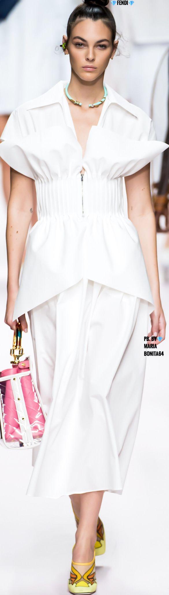 Fendi Ss19 Fashion Dresses Casual Fashion Dresses [ 2048 x 585 Pixel ]