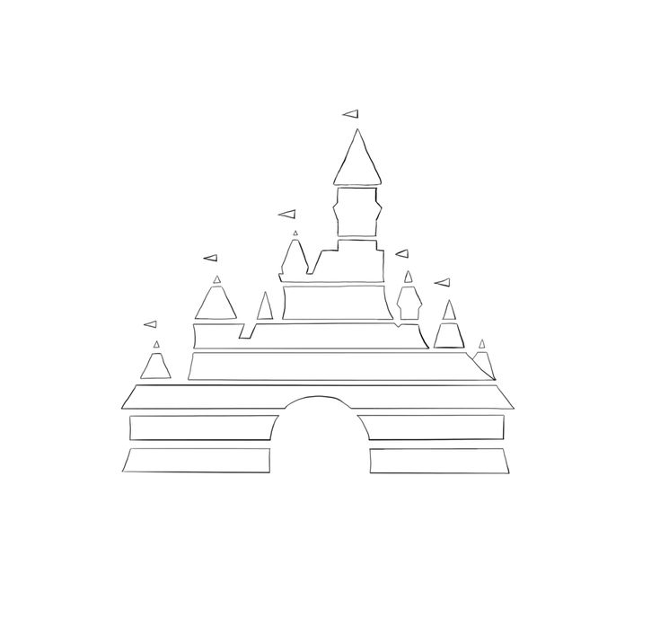 disney castle logo - Google Search
