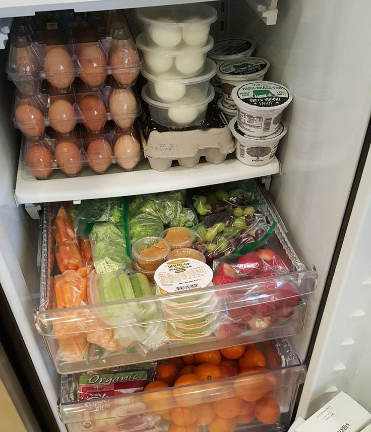 Snack drawer prep for the week! Various fruits and vegetables (shop the sales!) Rinsed & COMPLETELY let air dry before packing...if moisture is kept low then they should last, refrigerated 5-6 days. Guacamole, Hummus, and Nut-Butters are ready-to-go for dip. We boiled & peeled several dozen eggs, once completely cool, seal the boiled eggs in containers of 2, or baggies & they last 5-7 days too! -Rachel