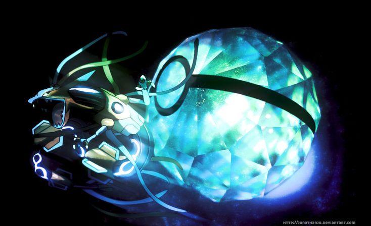 Pokeball of Rayoxys - Rayquaza + Deoxys fusion by Jonathanjo.deviantart.com on @DeviantArt