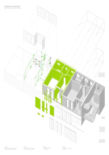 Carabanchel, Madrid, Spain  Social housing in Carabanchel dosmasuno arquitectos Proceso-constructivo