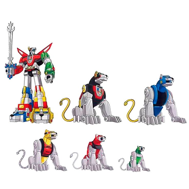 YES!!! YES YES YES - Voltron Family Car Decal