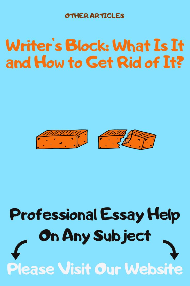 writer's block what is it and how to get rid of it
