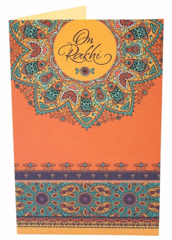 On Rakhi - Greeting Card