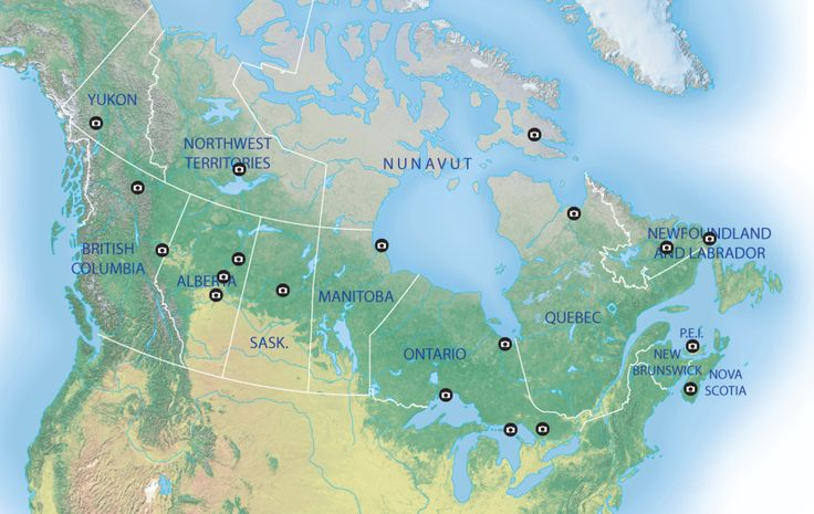 15 Interesting Maps That Will Change The Way You See Canada