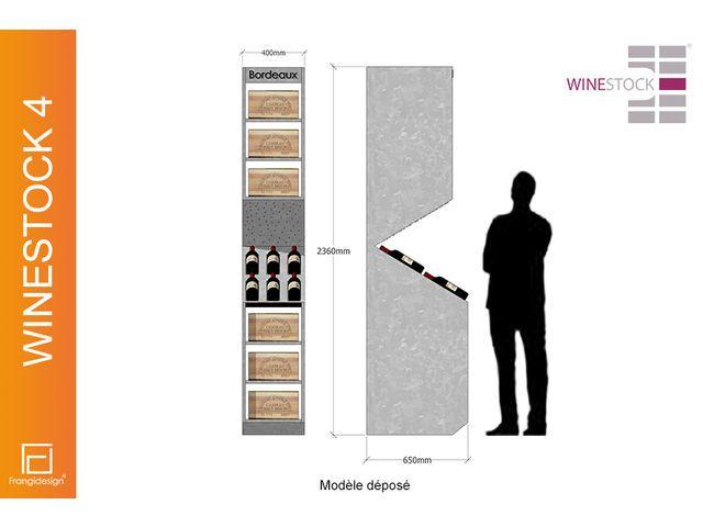 Mural cave à vins WINESTOCK 4 FRANGIDESIGN : devis gratuit