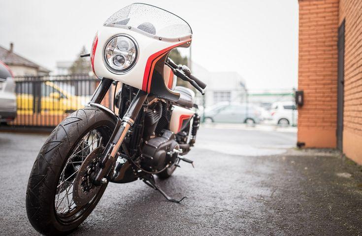 Harley Davidson motorépítő verseny