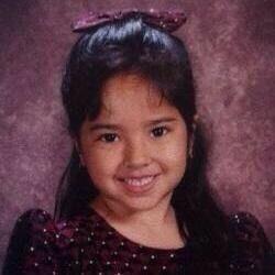 Becky when she was a little girl