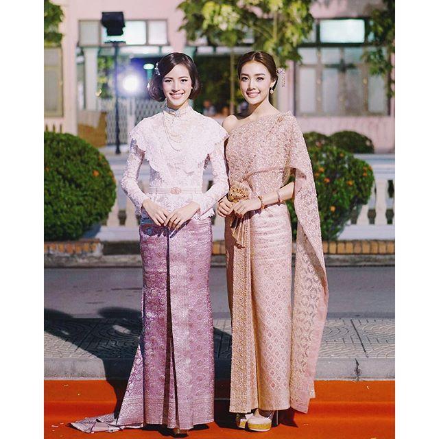 Nicha and Namtarn Traditional clothes