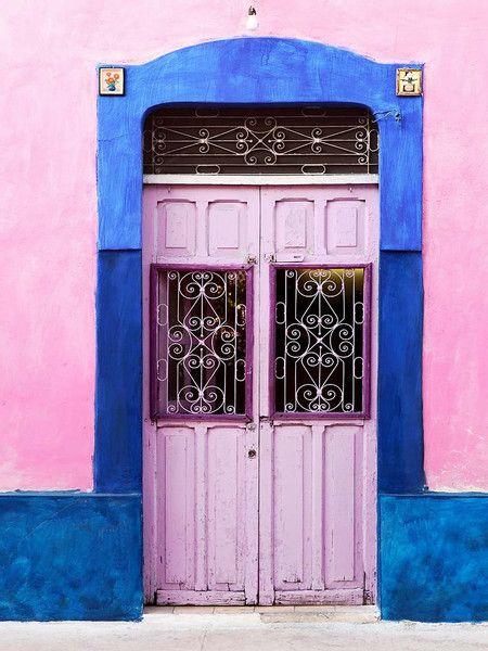 Mérida, Yucatan, Mexico Esta fue la puerta de mi casa, 2000-2006 c53x 62 y 64 centro