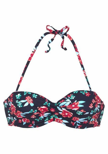 Bandeau-Bikini-Top »Anouk«, mit floralem Print