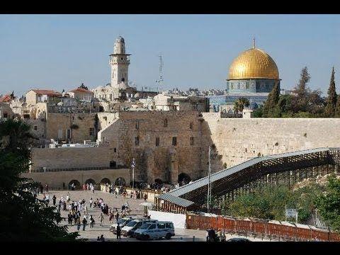 JERUSALEM - OLD CITY - A WALKING TRAVEL TOUR -  HD 1080P
