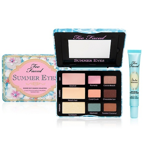 Too Faced Summer Eyes Collection with Shadow Primer QVC Summer 2014 - I really just want that mermaid shade! So perfect for summer!!