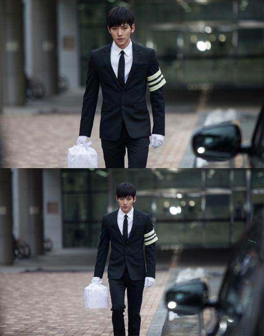 '힐러' 지창욱, 상복 입고 결연한 표정 포착..반격 시작되나?