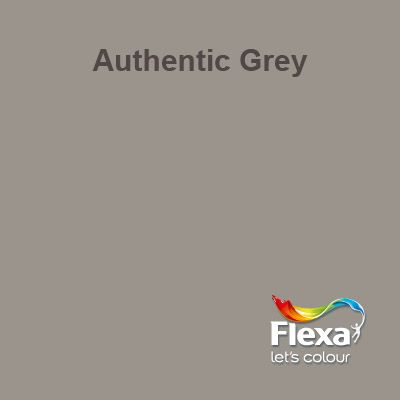 Flexa Creations kleur: Authentic Grey