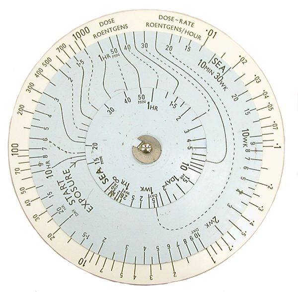 BRL RADIAC Calculator No. 1 (ca 1952-1956)