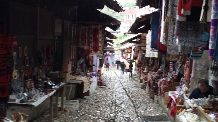 Tarihi Çarşı - Akçahisar (Kruja)  Arnavutluk