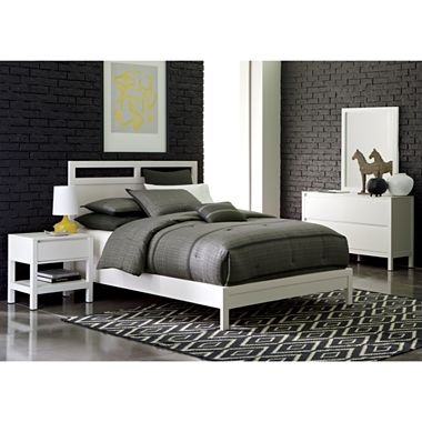 Linear White Bedroom Collection Jcpenney City By The Bay Pinterest White Bedrooms And